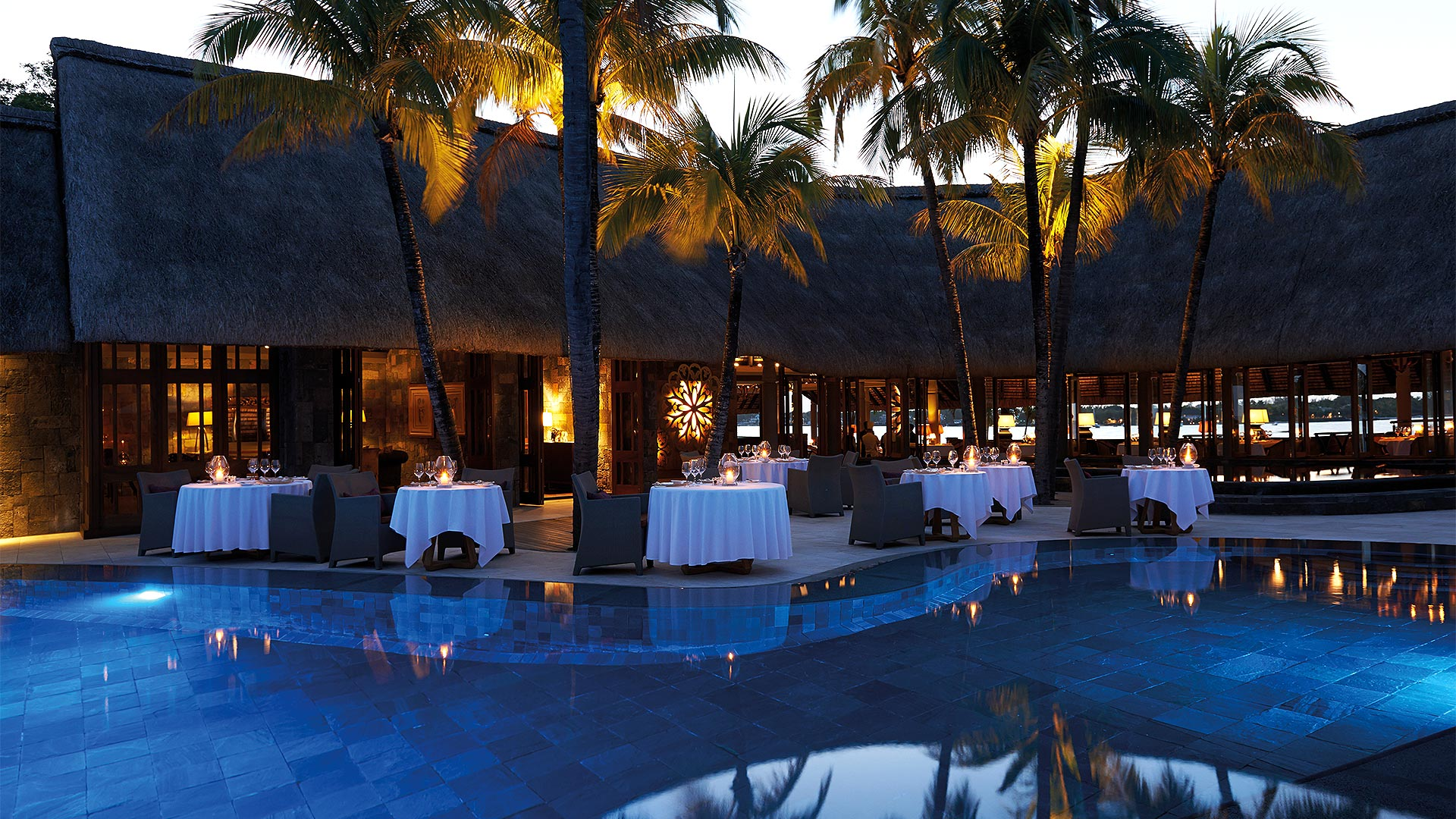 La Goelette - Restaurant - Dining - Pool - Royal Palm Mauritius