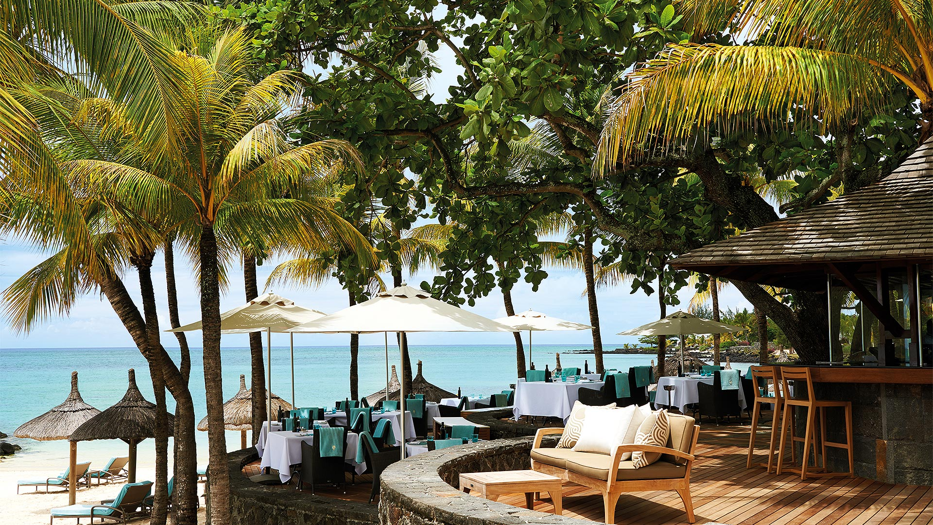 La Bar Plage - Restaurant - Dining - Royal Palm Mauritius