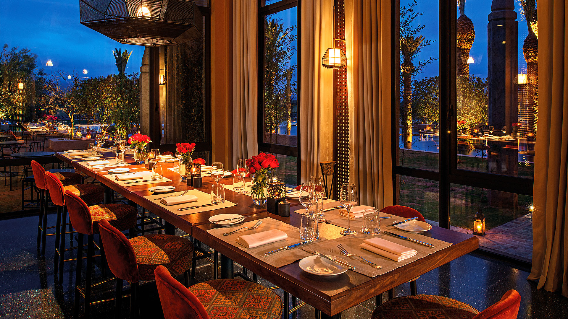 Banquets - Restaurants - Dining - Royal Palm Marrakech