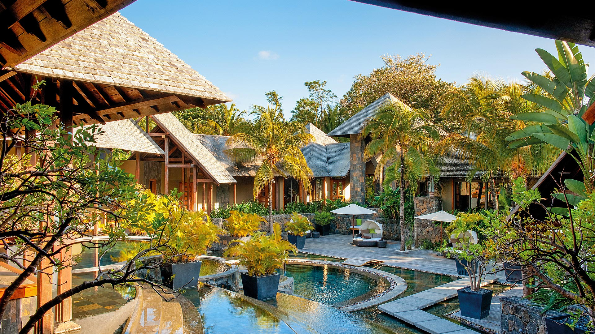 Spa By Clarins Royal palm Mauritius