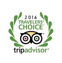 TripAdvisor Travelers choice 2016